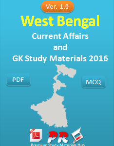 West Bengal GK & Current Affairs 2016 Question Answers