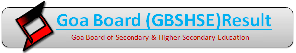 Goa Board SSC 10th Class Result 2019
