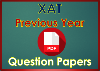 XAT PreviousYear Question Papers Answers