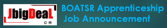 BOATSR Apprentices Recruitment 2019