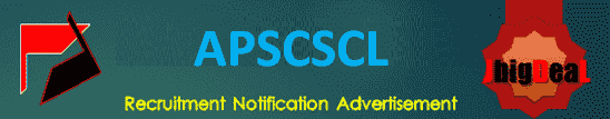 APSCSCL Technical Assistant & Chartered Accountant Recruitment 2020 Application Form