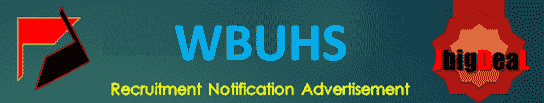 WBUHS Teaching Recruitment 2020 Application Form